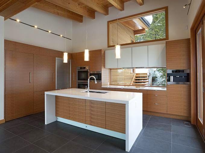 Bajo la ventana: Un lugar no habitual para cocinar - Cocinas con estilo
