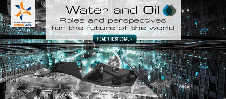 Water and Oil - Roles and perspectives for the future of the world. The water at heart of WEC. Our roundtable. #daegu #korea #wec2013 #water #roundtable #aboutoil #oil #perspectives #morse #digiovanni #rose #deghetto #globalenergy #resources Read more: http://www.abo.net/en_IT/publications/WEC/index.shtml