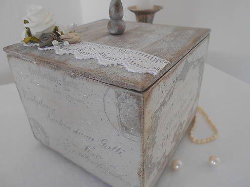 tinuszDecorArt / Romantická šedá