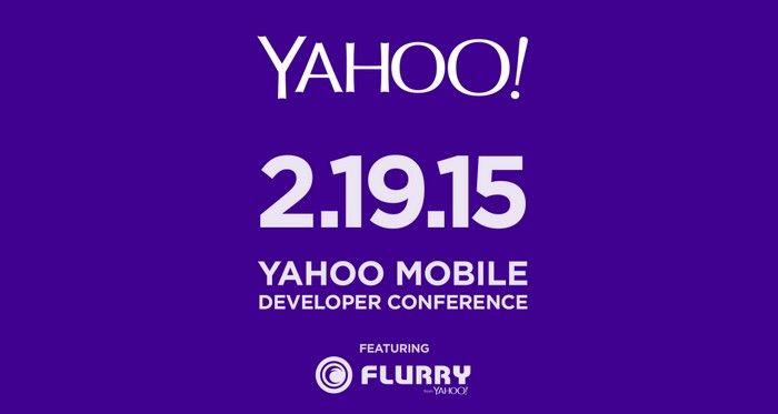 Yahoo anuncia su primer conferencia para desarrolladores de apps móviles para el próximo 19 de Febrero
