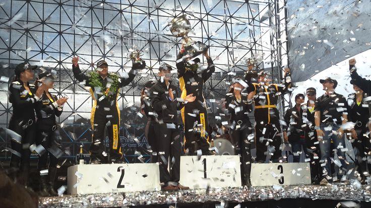 Celebracion de los ganadores, 29 Gran Premio Nacional Mobil Delvac.