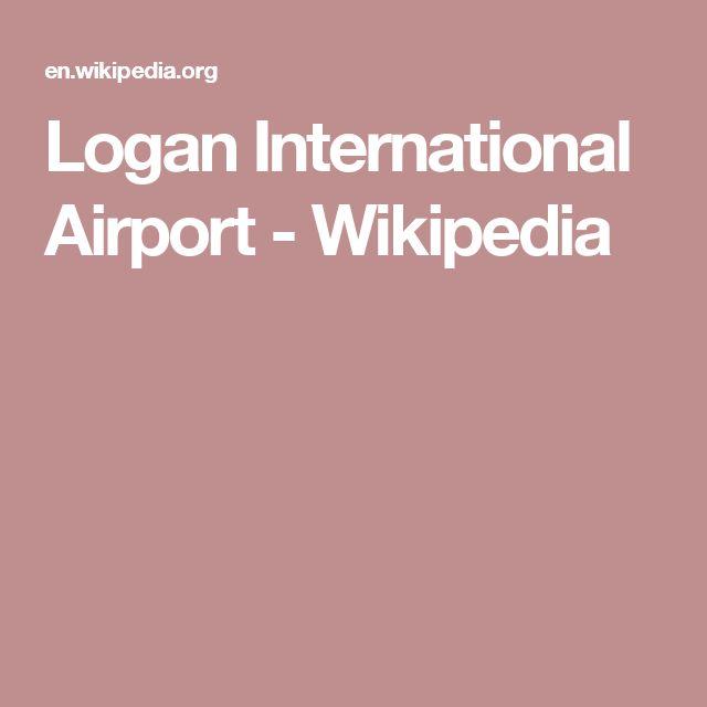 Logan International Airport - Wikipedia