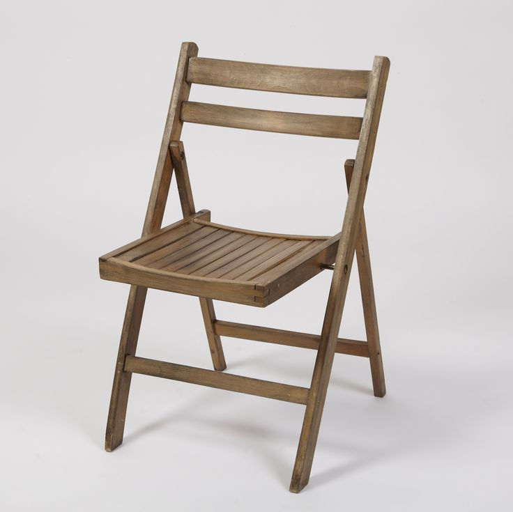 Timber Folding Chairs Hire
