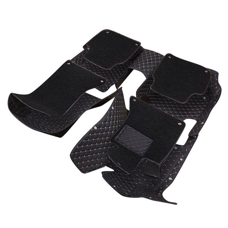 Topmats double layer floor mat for Audi A5 convertible car floor mat 3d floor mats custom fit car mat carpet protector #Affiliate