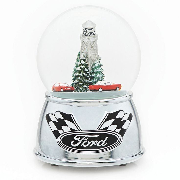 6 Musical Racing Car Glitterdome - Ford Motor Company,
