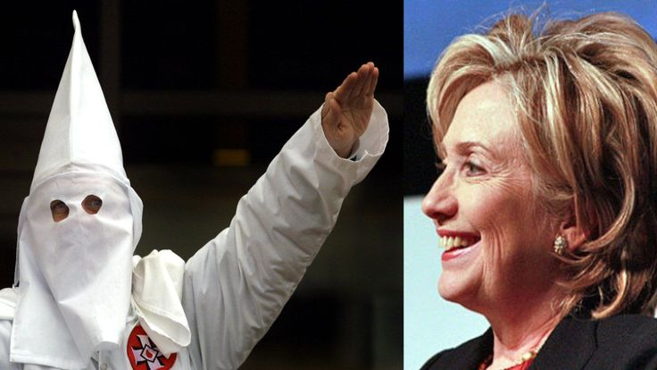 VIDEO=> KKK Grand Dragon Endorses Hillary Clinton---- For some reason this didn't make it into her racism speech yesterday in Reno. Ku Klux Klan leader Will Quigg ...