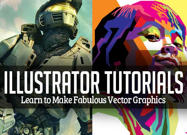 Illustrator tutorials learn to make vector graphics
