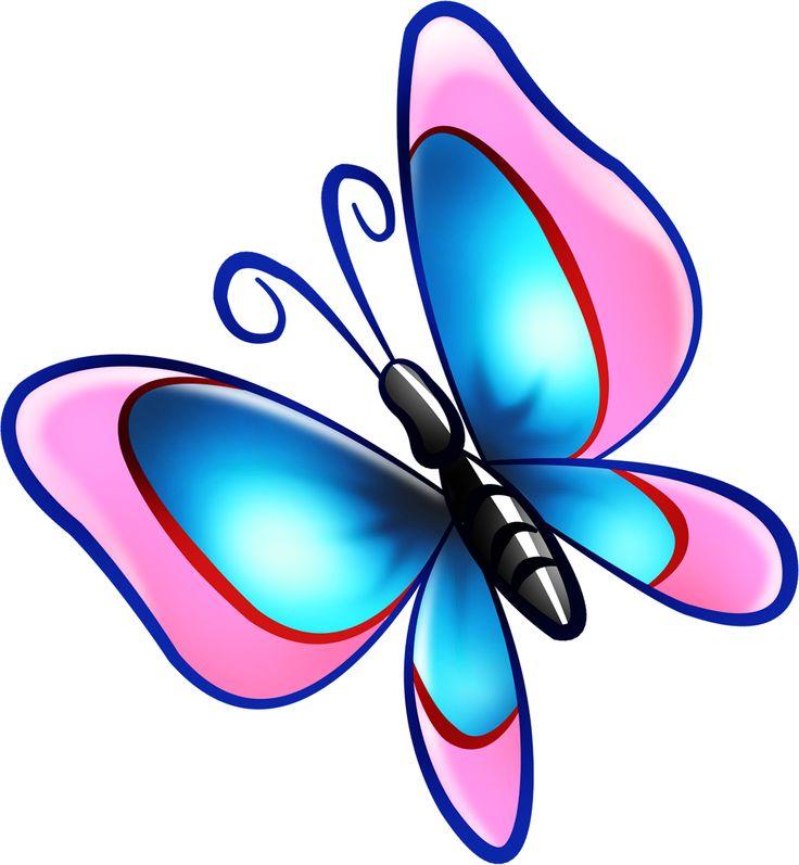 Бабочки картинка детская