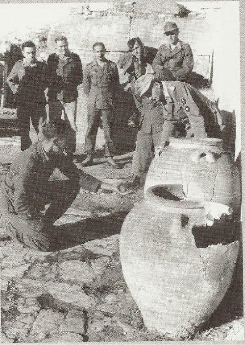 Κρήτη, 1941, Ανάκτορο Φαιστού