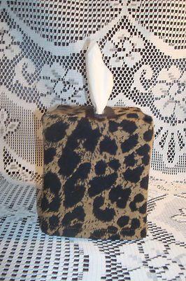 Sexy Leopard Print Tissue Box 4 Bathroom, Bedroom, Vanity, Living Room,  Kitchen