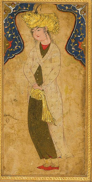 A TURBANED YOUTH, PERSIA, 17TH CENTURY | by persian.painting