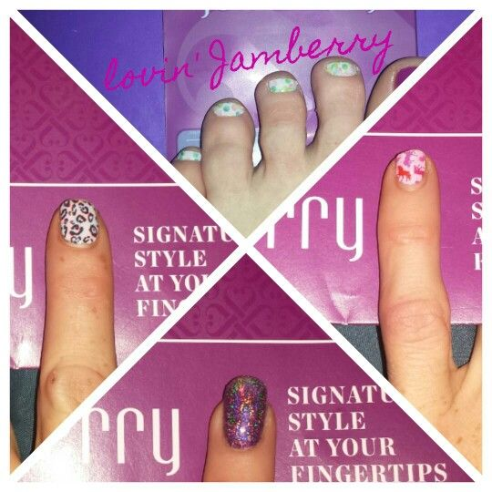 25.08.2015 Loving Jamberry!!  I was one of the 1st in Australia to test these Jamberry nail wraps(prior to launch).  https://nyki.jamberry.com/au/en/