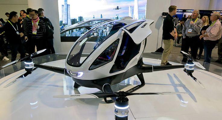 Presentan en Dubái el primer coche volador