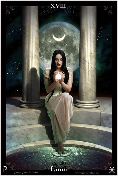 Luna - The Goddess Tarot