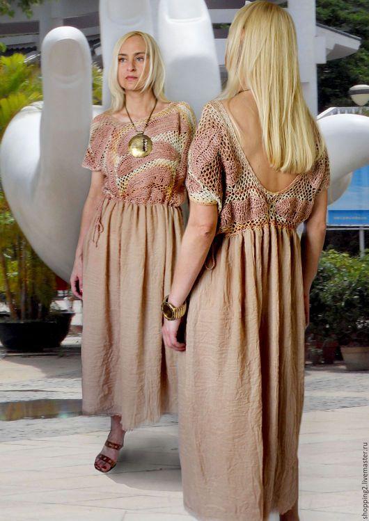 Платья ручной работы. Платье Костюм Б1. fashion. Ярмарка Мастеров. Пудровый цвет, платье в пол, одежда для женщин