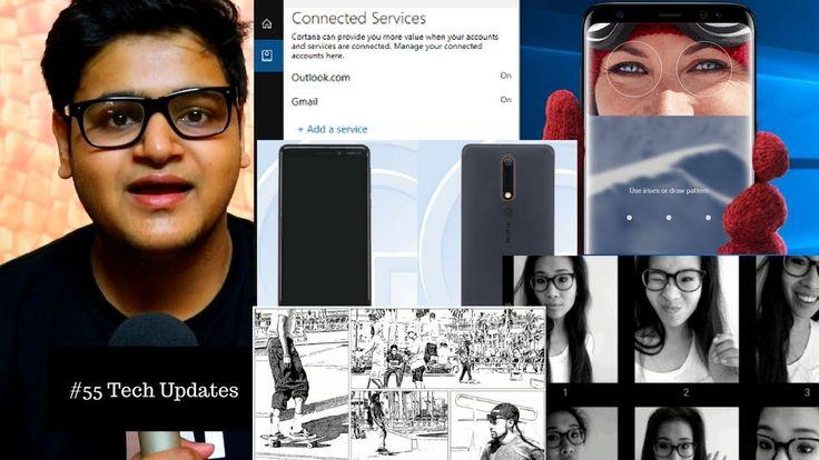 Iris Scanner Galaxy S9, Nokia 8 2018, Google Storyboard, Selfissmio, Scr...