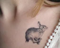 I have the same type of rabbit tattoo on my wrist!
