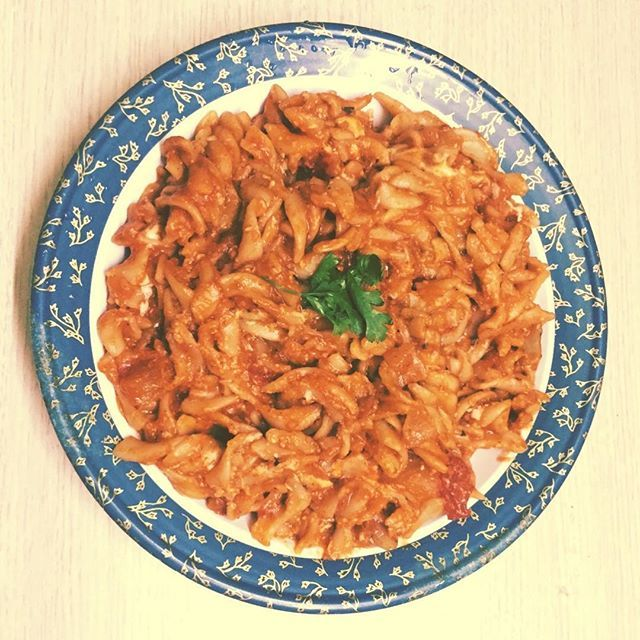 Life is a combination of Magic and Pasta 😍 #PastaArrabiata