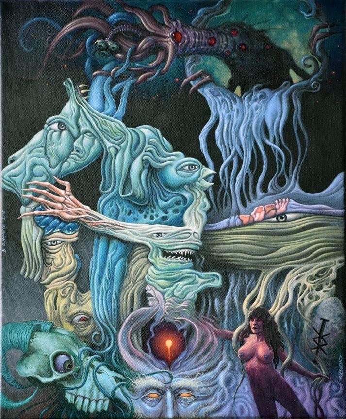 Dream of the Wizard / EC with Paul Carrick by Bernardumaine.deviantart.com on @DeviantArt
