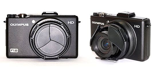 cool stuff: retractable lens cap for Olympus XZ-1 - mikeshouts