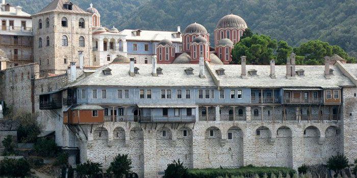 VISIT GREECE  Monastery of Xenophontos in #Athos #Macedonia #Greece