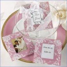 Wedding Door Gifts Black N White Photo Coaster Favors