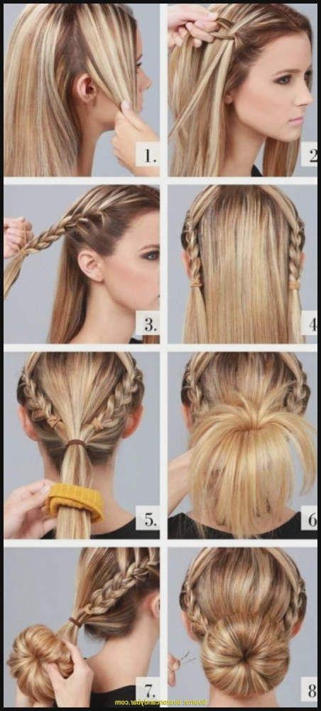 Haar Ideen Frisuren Zum Selber Machen Fur Mittellange Haare 2018