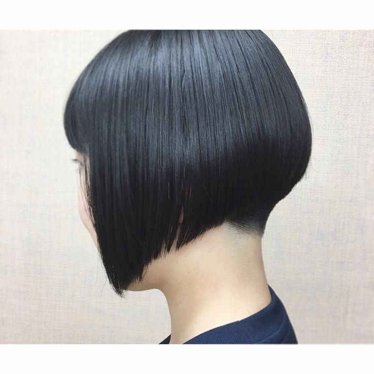 いいね!82件、コメント6件 ― MAI name is MAIさん(@d_mai_lite)のInstagramアカウント: 「ある日の女の子😊👌🏻 大迫にも攻めてる子が来ると 『よし!』💪てなります(笑) 写真撮らせてくれてありがとう御座います👏💓 綺麗な髪の持ち主です👌🏻✨ #刈り上げ女子 #前下がりボブ #bob…」