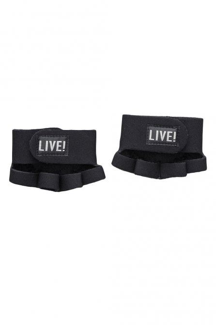 LIVE! Acessórios • Fitness • Meia Luva Live!   #gym #accessories #fitness