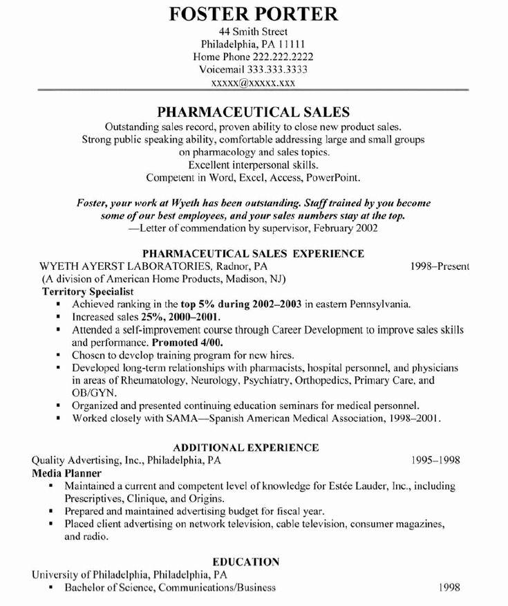 50 Lovely Sales Representative Resume Sample in 2020