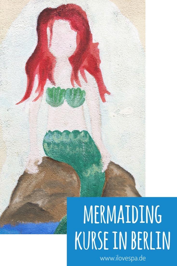 Mermaiding Kurse in Berlin - Meerjungfrauen Schwimmen Berlin