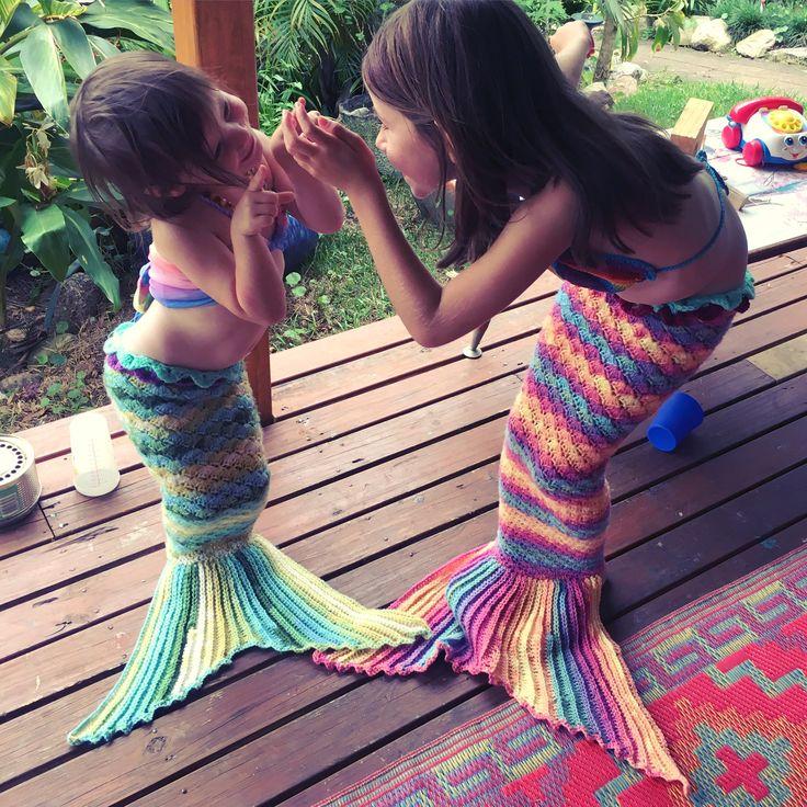 Sister mermaid love.....www.lamalatae.com.au
