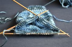 Como tricotar sua primeira meia - parte 1