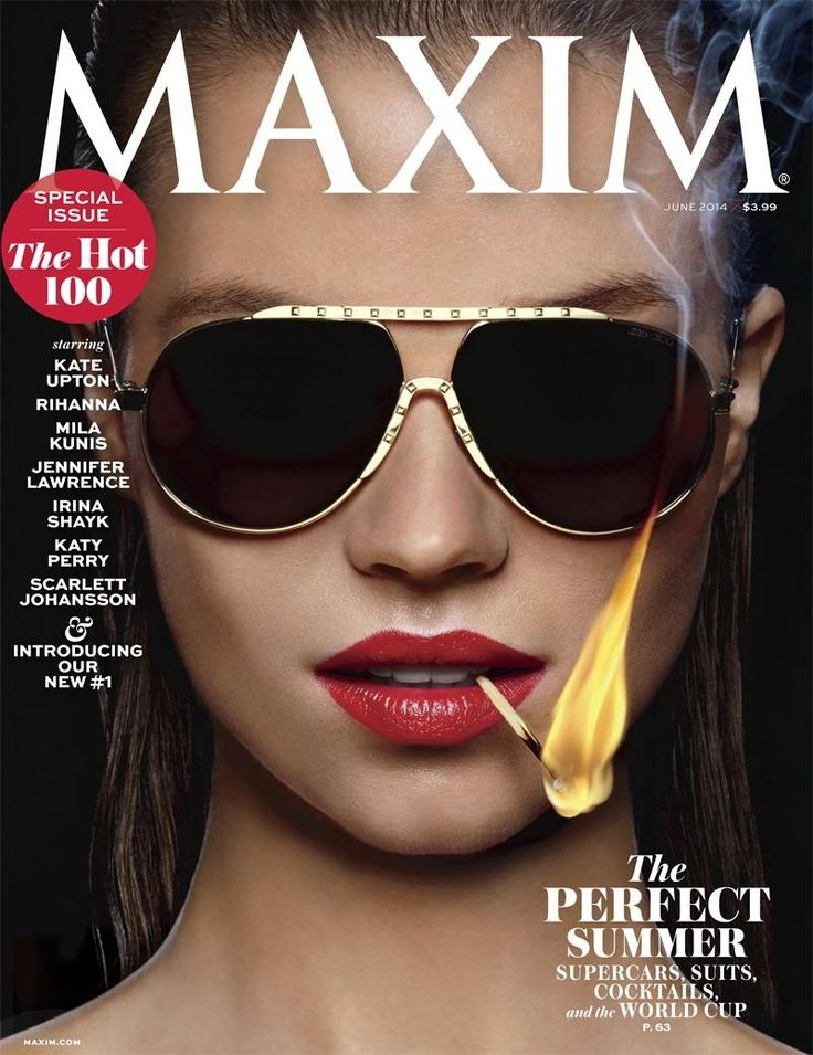 Maxim June 2014 Hot 100 Cover (Maxim Magazine)