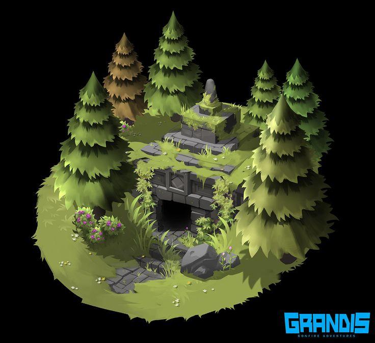 ArtStation - GRANDIS RPG Concepts, Hoi Mun