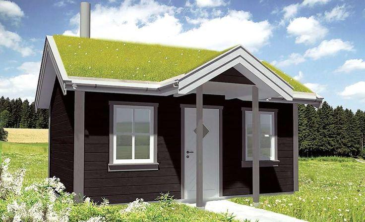 Modell: Redet. Firma: Norgeshus. Størrelse: 17,5 m². Pris: 227 300 kroner…