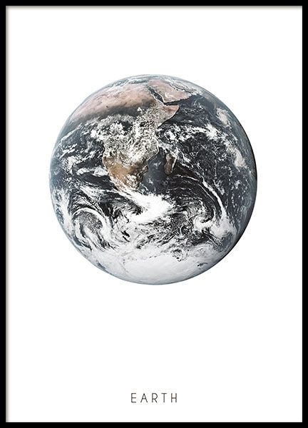 Print of the Earth...