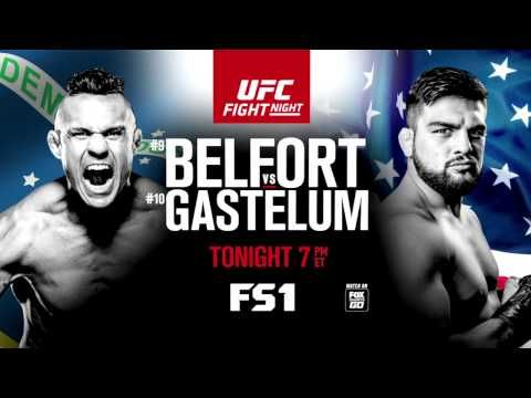 MMA UFC Fight Night: Belfort vs Gastelum - Tonight on FS1