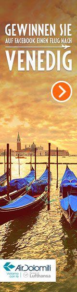 Gewinne einen Flug von München nach #Venedig mit Air Dolomiti bei unserem neuen Gewinnspiel auf #Facebook!  http://apps.facebook.com/swp-opodo-de