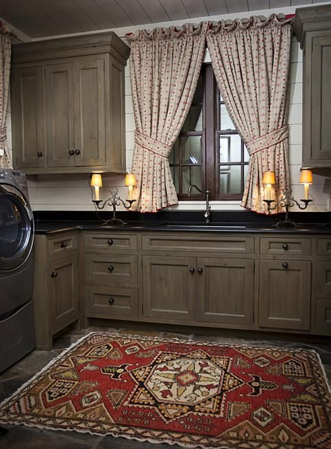 wonderful laundry room ... love the colors