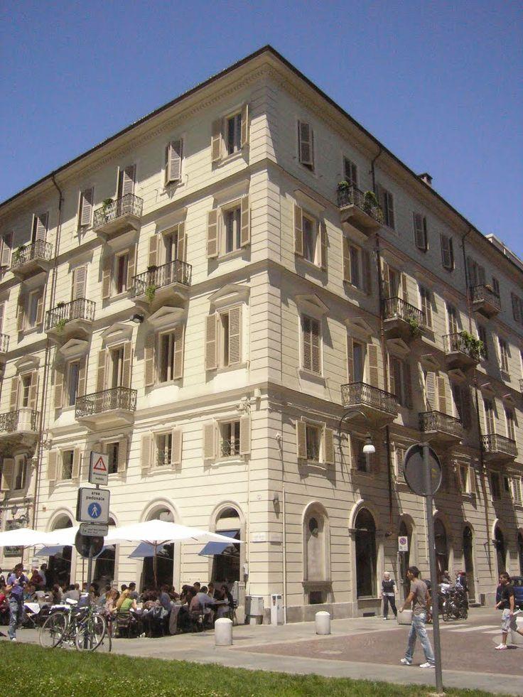 Via Carlo Alberto No.6, Turijn, Italy. Friedrich Nietzsche ...