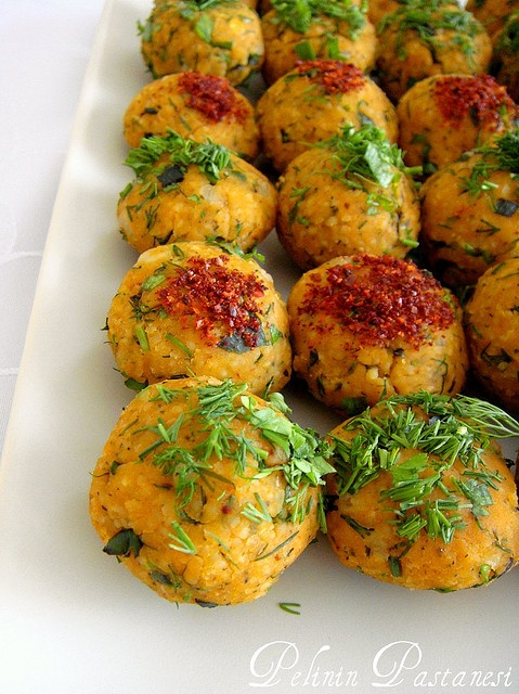 mercimek kofte (#turkish vegetarian 'meat'balls) recipe