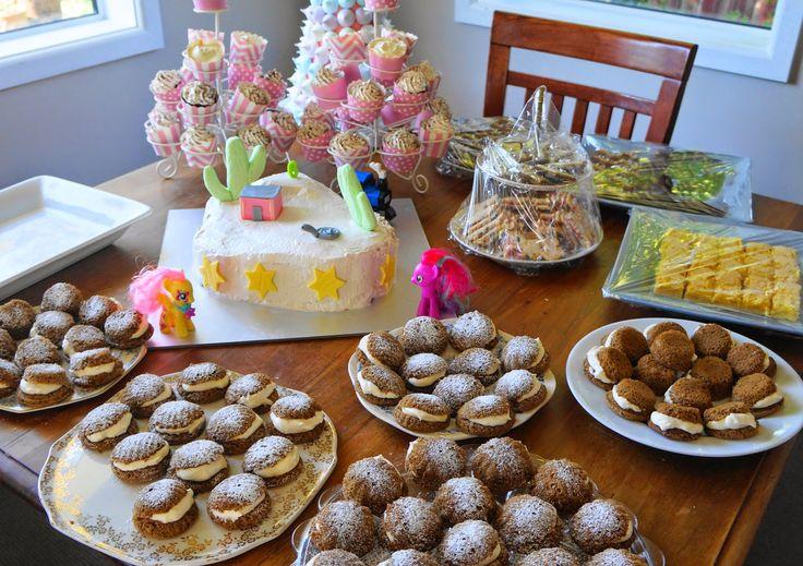 Party baking ideas: http://craftycakecreative.blogspot.co.nz/2015/03/birthday-girl-and-how-to-make-meringue.html