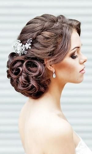 42 Hochzeitsfrisuren – Romantische Braut Hochsteckfrisuren – wedding hair