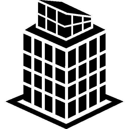 Tall building structure I Free Icon