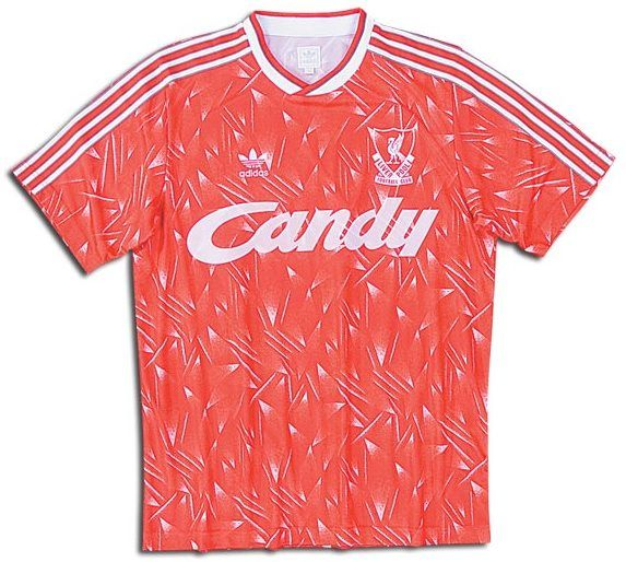 Amazing look now? liverpool 1990 retro#jersey #soccer #official #football #equipamento #camiseta #kit