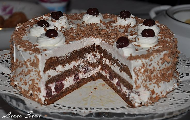 Tort Foret Noire cu visine