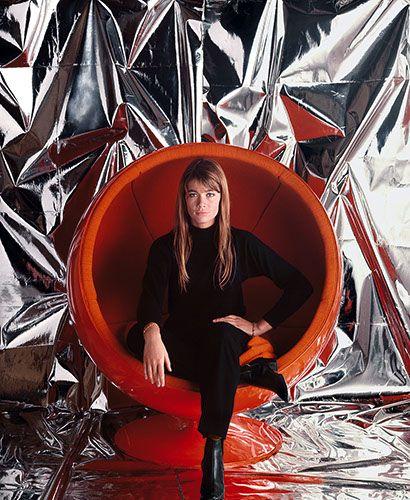 Jean-Marie Perier - Photographe - Francoise Hardy. Paris, 1966