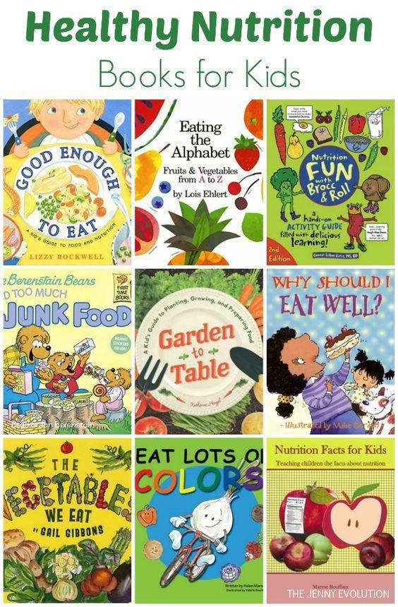 Healthy Nutrition Books for Kids (Nutrition Study Unit) from @jennyevolution #KidLit #nutrition