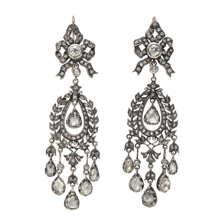 17 Best images about Diamond chandelier earring perpetual – Black Diamond Chandelier Earrings